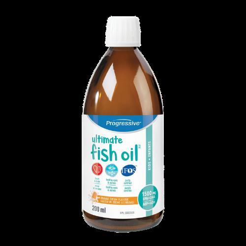 Progressive Ultimate Fish Oil Kids 200 ml