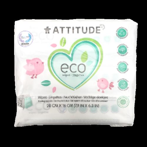Attitude Eco Wipes Biodegradable 3 x 72 wipes