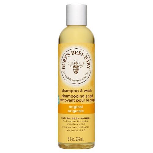 Burt's Bees Baby Shampoo & Wash Original Canada 99.9% natural no tears