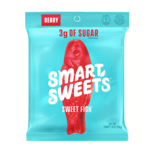 Smart Sweets Berry Sweet Fish 50 grams Canada