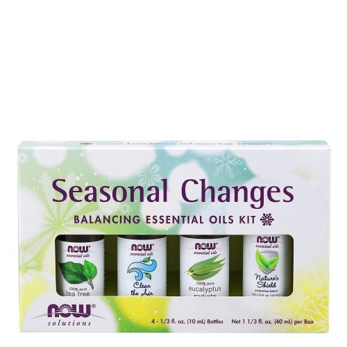 NOW Seasonal Changes Balancing Essential Oils Kit Canada