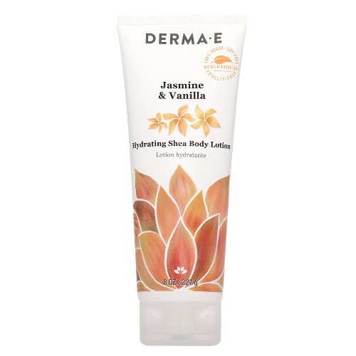 Derma E Jasmine & Vanilla Hydrating Shea Body Lotion 227 grams renew your skin Canada