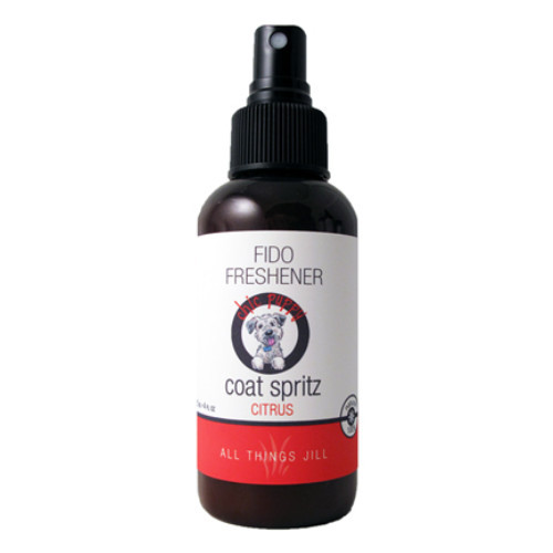 All Things Jill Chic Puppy Fido Freshener Coat Spritz Citrus 125 ml Canada  makes your dog smell better