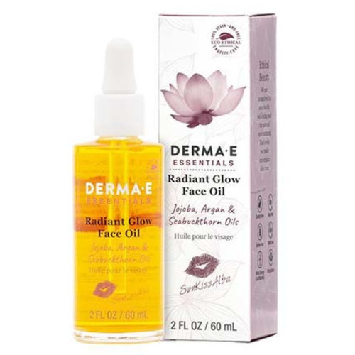 Derma E Essentials Radiant Glow Face Oil 60 ml Canada nourish skin soften wrinkles
