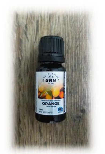 GNN 100% Pure and Organic Orange Essential Oil 10 ml Canada