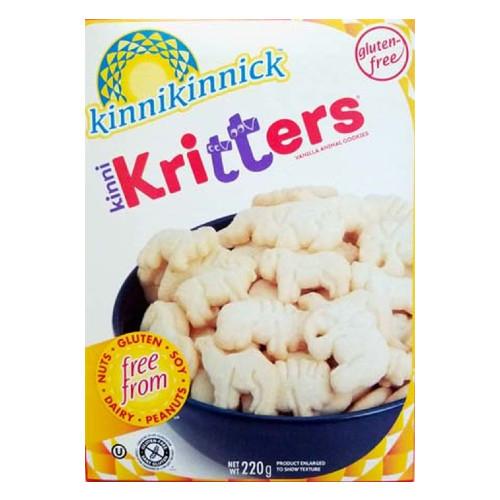 Kinnikinnick Kinni Kritters Vanilla Animal Cookies 220 grams Canada