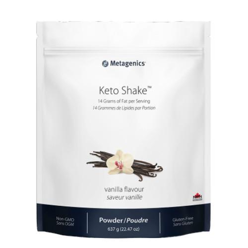Metagenics Vanilla Flavour Keto Shake 637 grams Ketogenic Diet friendly