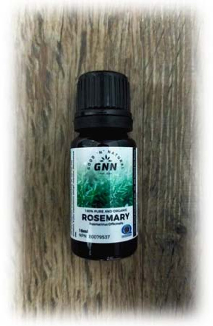 GNN 100% Pure and Organic Rosemary Essential Oil 10 ml Canada