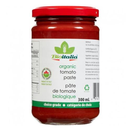 BioItalia Organic Tomato Paste 300 ml Canada