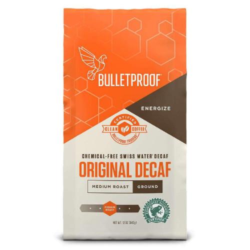 Bulletproof Original Decaf Medium Roast Ground Coffee 340 grams Canada Keto diet