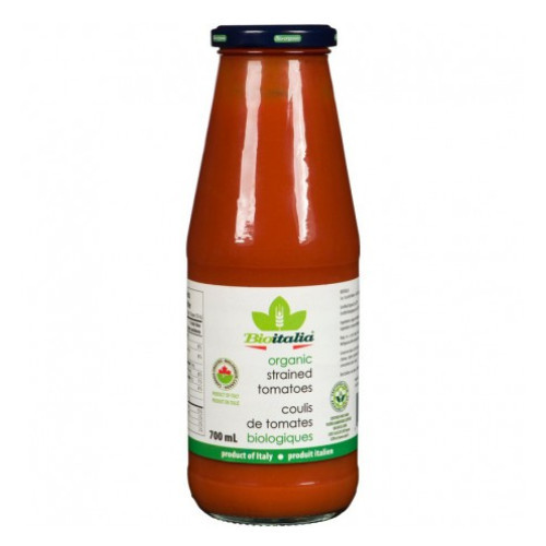BioItalia Organic Strained Tomatoes 700 ml Canada