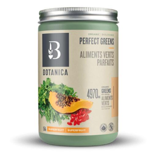 Botanica Organic Perfect Greens Superfruit Flavour 154 grams Canada