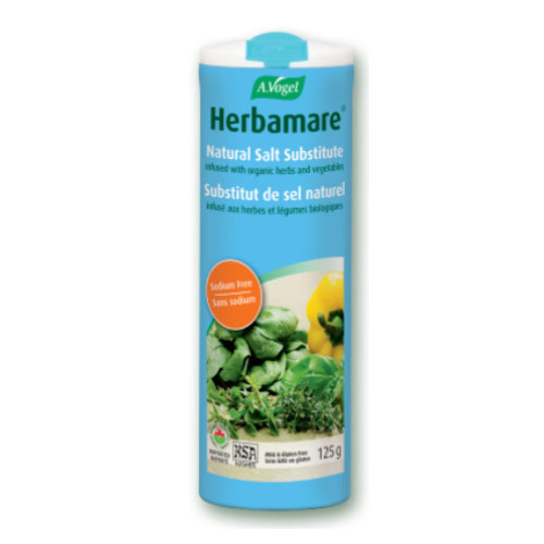 A. Vogel Herbamare Sodium Free Natural Salt Substitute 125 grams Canada