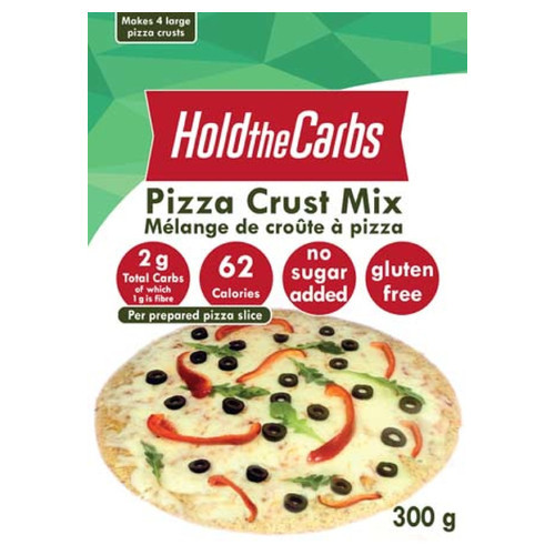 Hold the Carbs Pizza Crust Mix 300 grams Canada Keto friendly