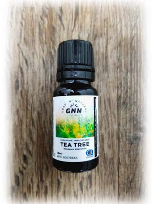 GNN 100% Pure and Organic Tea Tree Essential Oil 10 ml Canada