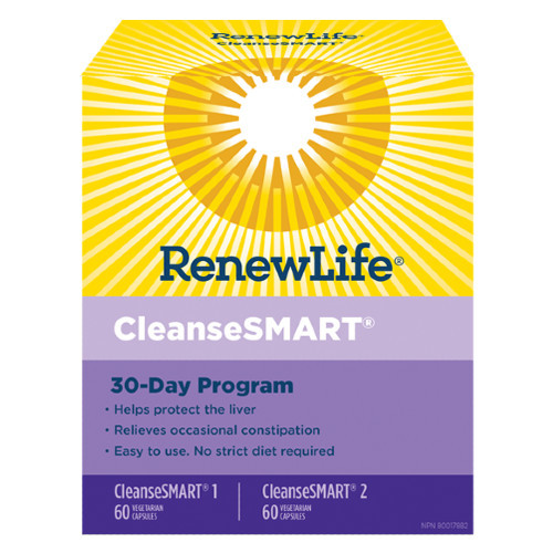 Renew Life CleanseSMART 30 day cleanse and detox for your body.