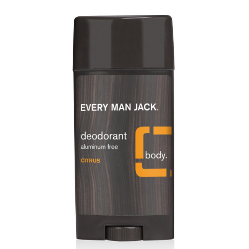 Every Man Jack Citurs Scent Deodorant Naturally Derived Canada 85 grams