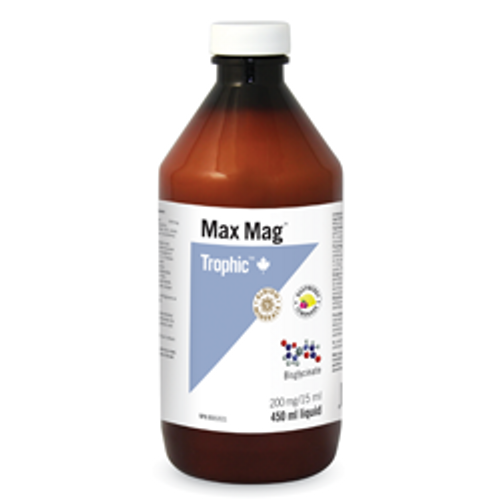 Trophic Max Mag 450 ml magnesium glycinate Canada