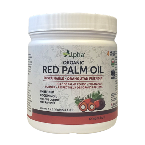 Alpha - Organic Red Palm Oil New Look