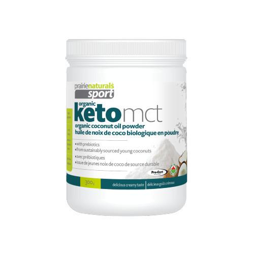 Prairie Naturals Sport KetoMCT Organic Coconut Oil Powder energy Keto friendly vegan