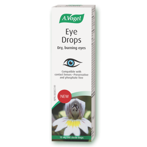 A. Vogel Eye Drops dry, burning, irritated eyes Canada