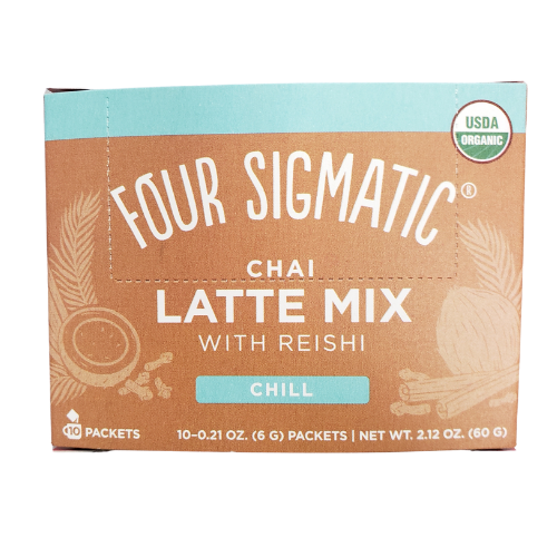Four Sigmatic Chai Latte Mix with Reishi Chill 10 packets Canada