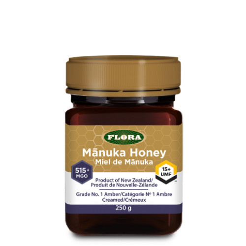 Flora Manuka Honey 515+ MGO 15+ UMF  250 grams