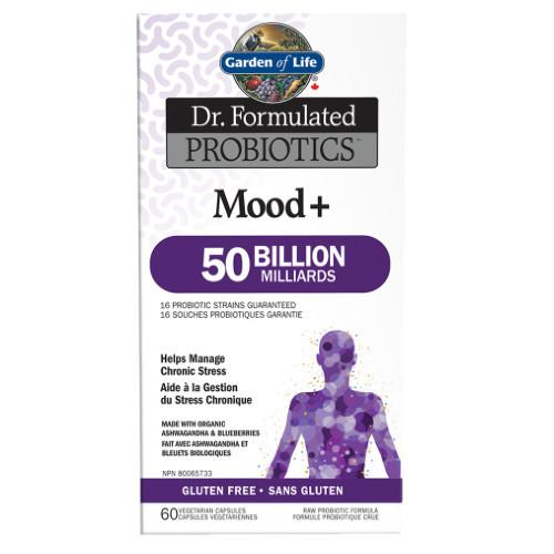 Garden of Life Mood + Dr. Formulated Probiotic