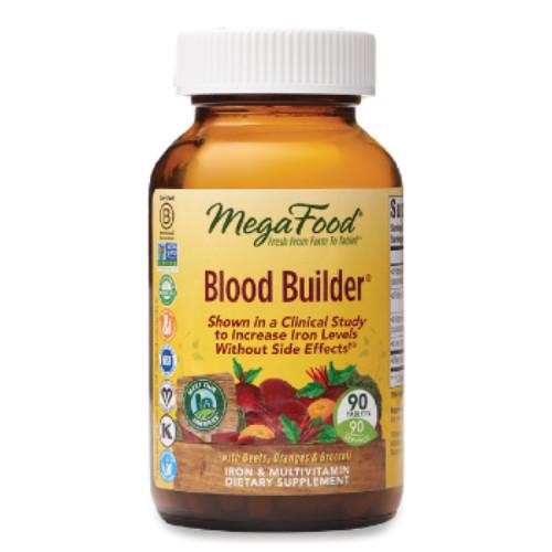 MegaFoods Blood Builder iron supplement 90 tablets