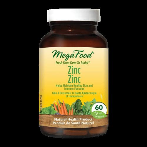MegaFood Zinc 60 tablets Canada