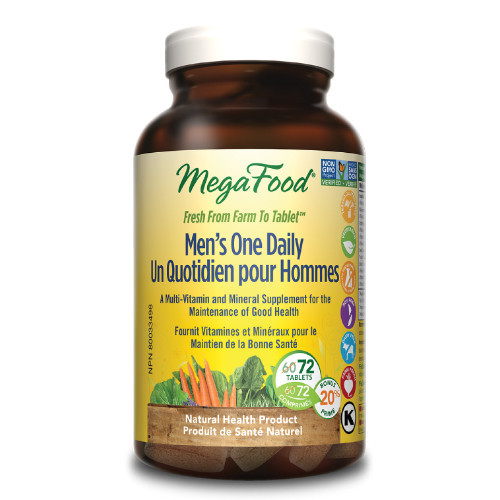 MegaFood Men`s One Daily 72 tablets