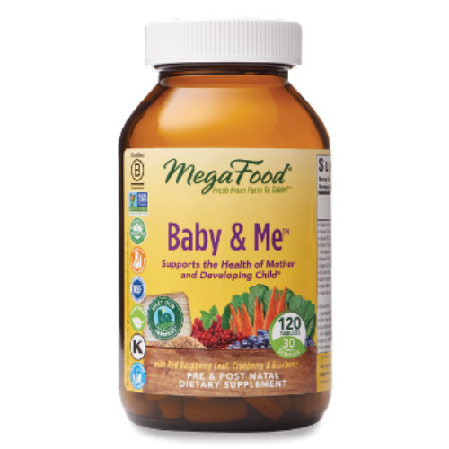 MegaFood Baby & Me 120 tablets Canada