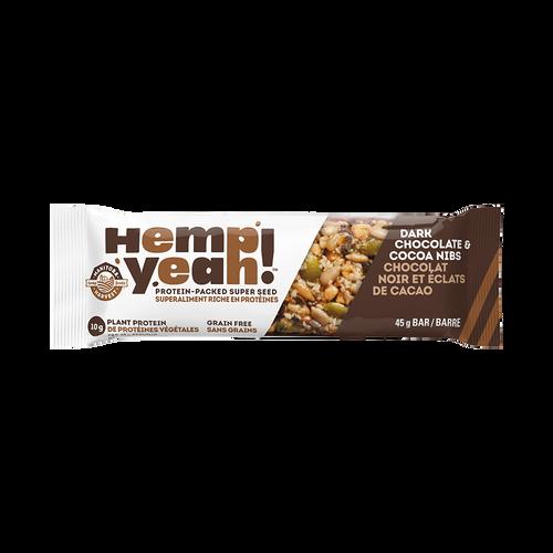 Manitoba Harvest Hemp Yeah! Dark Chocolate & Cocoa Nibs 45 grams