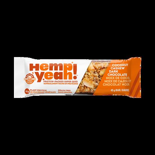 Manitoba Harvest Hemp Yeah! Coconut Cashew Dark Chocolate bar 45 grams