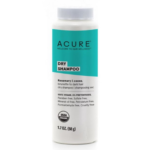 Acure Dry Shampoo Brunette to Dark hair 58 grams Canada