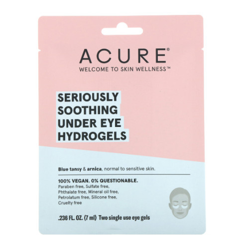 Acure Seriously Soothing Under Eye Hydrogels Normal to Sensitive Skin 7 ml