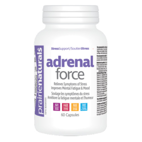Prairie Naturals Adrenal Force 60 capsules