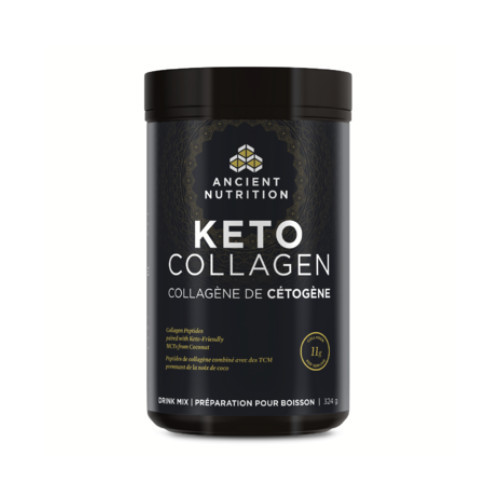 Ancient Nutrition Keto Collagen Drink Mix Unflavoured 324 grams