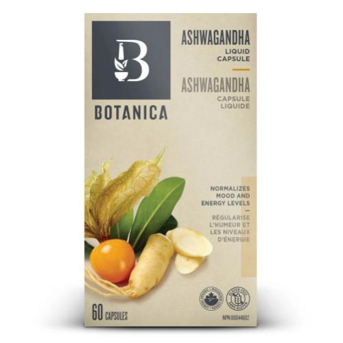 Botanica Ashwagandha Liquid 60 caps