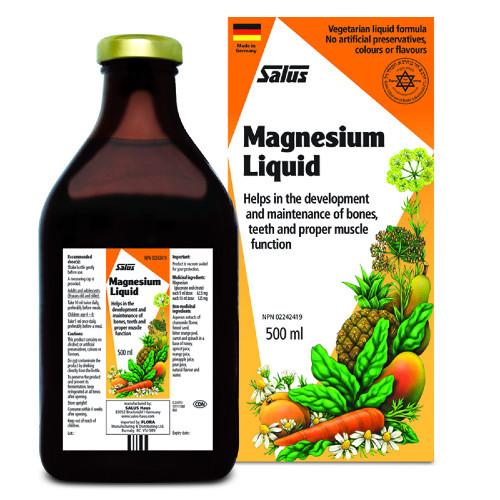 Flora Salus Magnesium Liquid 500 ml Canada