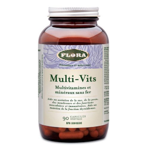 Flora Multi-Vits 90 vegetable capsules