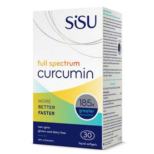 Sisu Full Spectrum Curcumin 30 liquid softgels