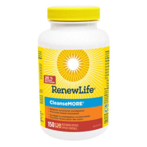 Renew Life CleanseMORE 150 bonus size
