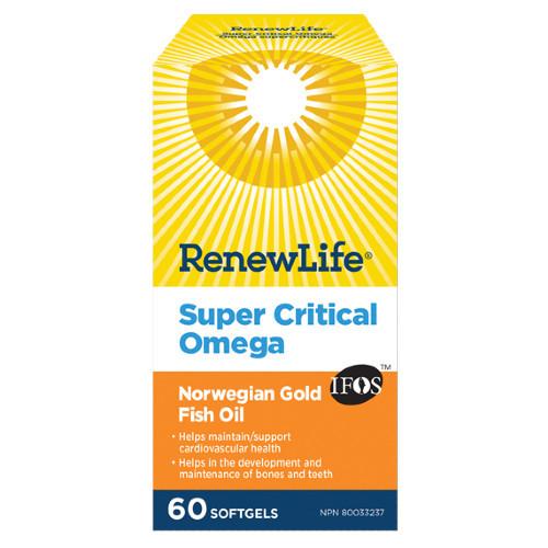 Renew Life Super Critical Omega 60 softgels