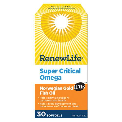 Renew Life Super Critical Omega 30 softgels