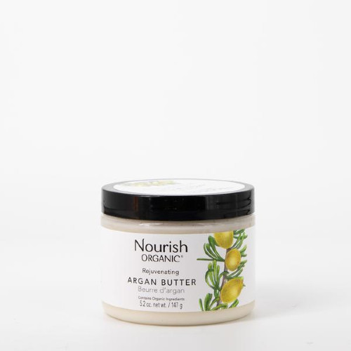 Nourish Organic Rejuvenating Argan Butter 147 grams