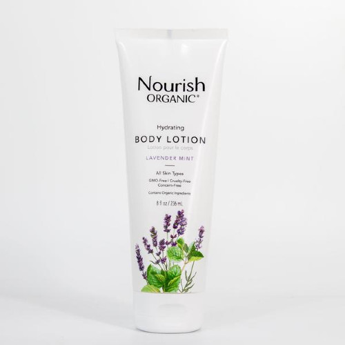 Nourish Organic Hydrating Body Lotion Lavender Mint 236 ml