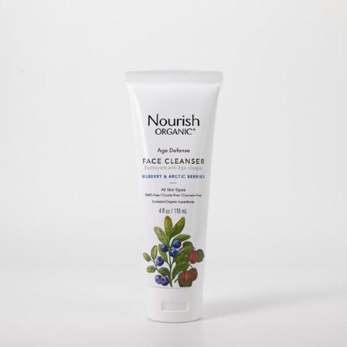 Nourish Organic Age Defense Face Cleanser Bilberry & Arctic Berries 118 ml