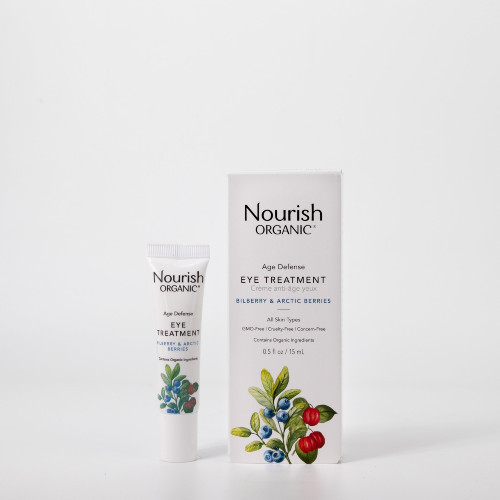 Nourish Organic Age Defense Eye Treatment Bilberry & Arctic Berries 15 ml Canada