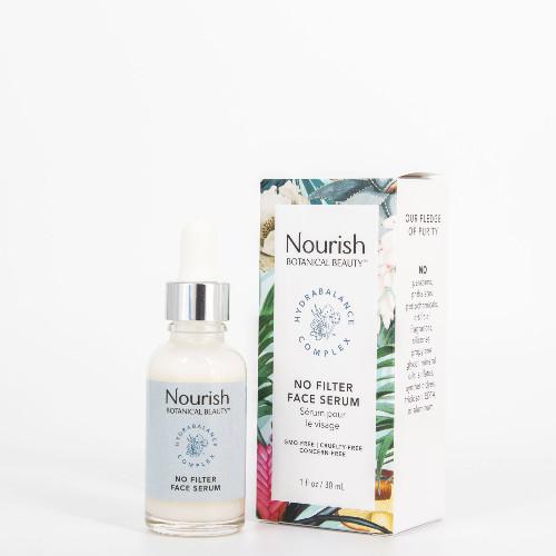 Nourish Botanical Beauty No Filter Face Serum 30 ml